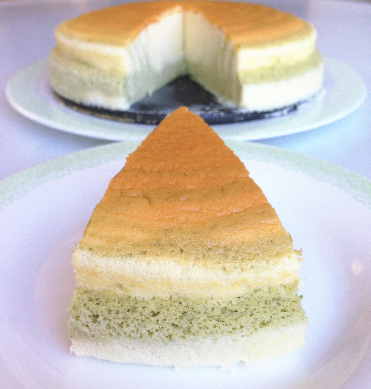Zebra cheesecake kuchen